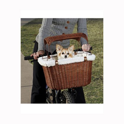 Wicker Pet Bicycle Basket (Tagalong Pet Bicycle Basket)