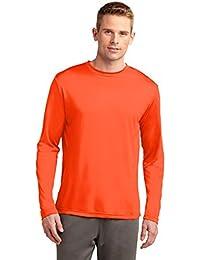 Big & Tall Long Sleeve Moisture Wicking Athletic T-Shirt