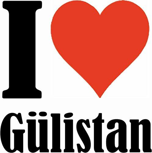 """Handyhülle iPhone 4 / 4S """"I Love Gülistan"""" Hardcase Schutzhülle Handycover Smart Cover für Apple iPhone … in Weiß … Schlank und schön, das ist unser HardCase. Das Case wird mit einem Klick auf deinem"""
