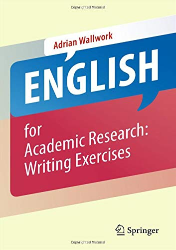 English for Academic Research: Writing Exercises: Writing Exercises