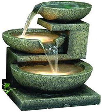 Hi-Line Gift Ltd 3-Bowl Fountain