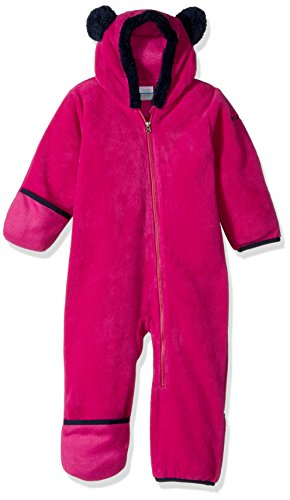 Columbia Baby Tiny Bear II Bunting, Deep Blush, 12-18 Months