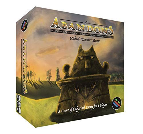 The Abandons Solitaire Card Game - Dungeon Crawl Maze Game - Solo Game (Best One Player Games)