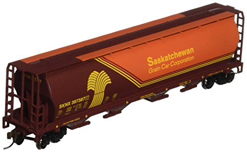 Bachmann Trains Saskatchewan- Wheat Herald 4 Bay Cylindrical Grain (Bachmann Cylindrical Hopper)