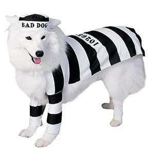 Prisoner Dog Pet Costume - Size Small