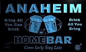 ADV PRO p2104-b Anaheim Home Bar Beer Family Last Name Neon Light Sign
