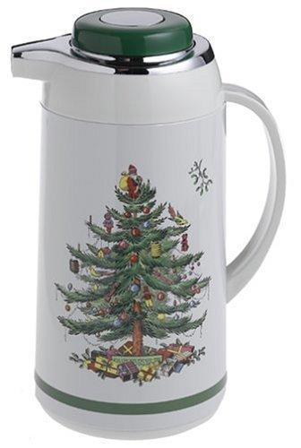 Christmas Coffee Pot - Spode Christmas Tree Thermal Coffee Pot