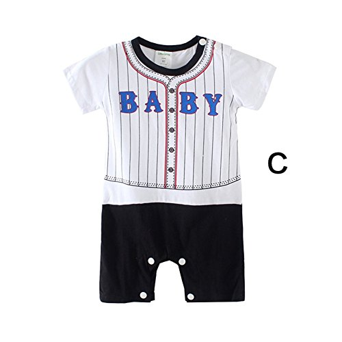 Sport Team BABY Baseball Rompers