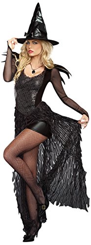 Dreamgirl Women's Wicked Me, Black, Small (Dark Fairy Halloween Costumes)