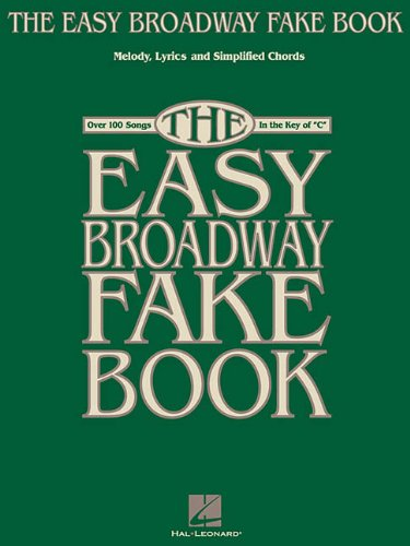 The Easy Broadway Fake Book (Fake Books)