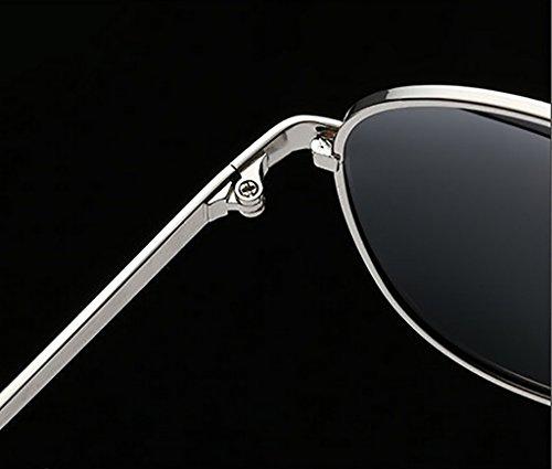 del de de Gafas Color Sol Color Gafas Espejos 6 Conducción Sol Sol Gafas del 3 WYJL Hombres Gafas de polarizadas Colorido de Conductor de los Clásicas BFRxAPWgUn