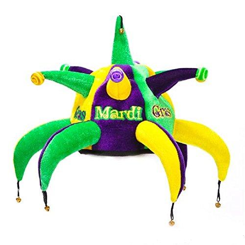 Mardi Gras Spike Jester Hat, 12 Pieces]()