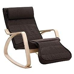 SONGMICS Rocking Relaxing Lounge Chair, ...