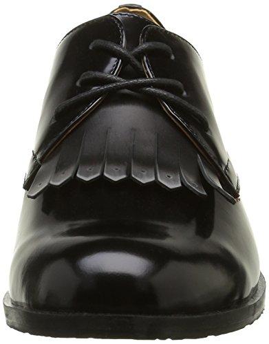 Belmondo 703545 01, Zapatos de Cordones Derby para Mujer Negro - negro