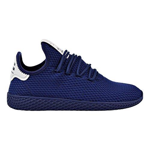 Scarpa Sportiva Adidas Uomo Pharrell Williams Tennis Hu (uomo 8,5, Blu Navy 6435)