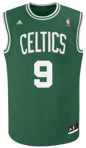 NBA Boston Celtics Green Replica Jersey Rajon Rondo #9, XX-Large
