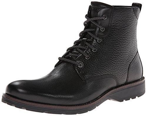 Rockport Men's Total Motion Street Plain Boot Combat Boot,Black,7 M US