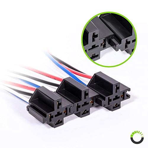 Terrific Online Led Store 6 Pack 30A Fuse Relay Switch Harness Set Import Wiring Cloud Hisonuggs Outletorg