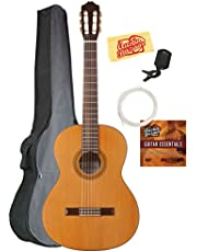 Cordoba C3M Classical Guitar Bundle with Gig Bag, Tuner, Austin Bazaar Instructional DVD, and Polishing Cloth