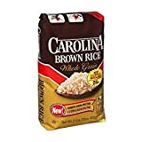 Carolina Brown Rice Whole Grain Gluten Free 32 Oz. Pack Of 3.