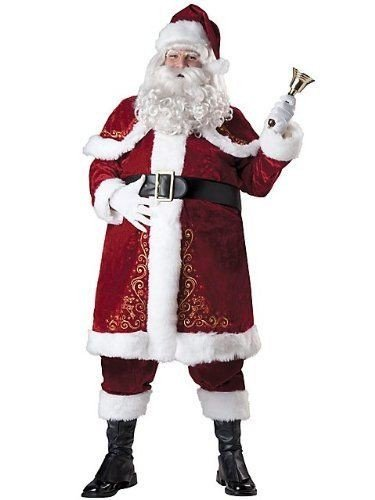 Jolly Ole St. Nick Costume - XXX-Large - Chest Size -