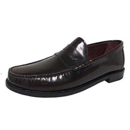 Ikon Mens Original Burgundy Leather Albion Shoe UK 9 HsaffCgt