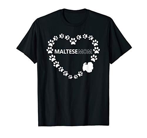 Maltese Mom T Shirt - Maltese Womens
