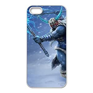 iPhone 5 5s Cell Phone Case White League of Legends Glacial Olaf OIW0411783