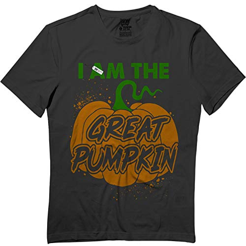 I Am The Great Pumpkin Halloween Outfit Costume T Shirt Black]()