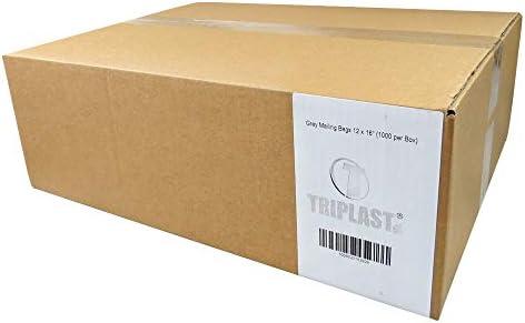 Triplast - Bolsas de plástico para correo postal, color negro ...