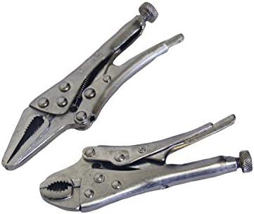 Mole Grips Locking Pliers Plier 2pc Mini Set Garages Hobby WR129