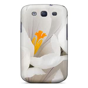 Qvk2183xqiT Case Cover, Fashionable Galaxy S3 Case - So Pretty In White