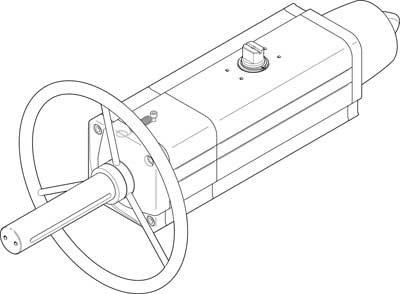 Festo 8005042 Model DAPS-0240-090-RS1-F1012 Semi-Rotary Festo Ltd