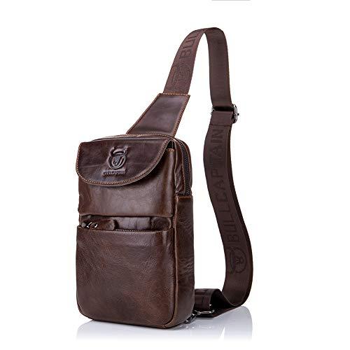 58065b25a BandoleraMochila Coffee Hombre Viajar coffee Bag Gloozd Pecho Bolso  Bandoleras F6213 Messenger Shoulder Crossbody N8vnOm0w