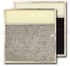 Aluminio/Carbono/lente gama Filtro de campana – 11 1/2