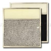 American Metal Aluminum/Carbon/Lens Range Hood Filter -11 1/2 x 11 3/4 x 3/8 - 3-1/2 Lens