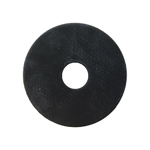 Pack of 12 3//8 Hole X 2 O.D Neoprene Rubber Fender Washers