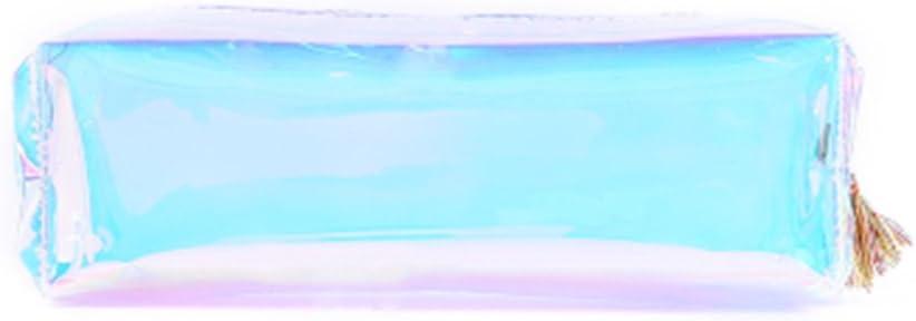 Naisidier Estuche Transparente Multicolor Caja de Lápiz Pencil ...
