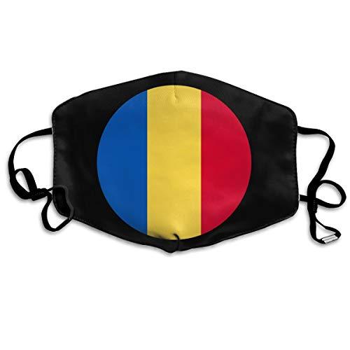 SyjTZmopre Romania Mouth Mask Unisex Printed Fashion Face Anti-dust Masks]()