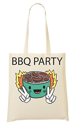 Party Mano De CP Bolso Bolsa Bbq La Compra De 5qZcv