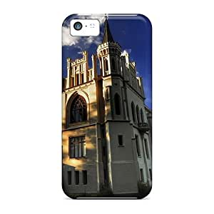 Estebanrivera-2 Case Cover For Iphone 5c - Retailer Packaging Beautiful Restored Castle Protective Case
