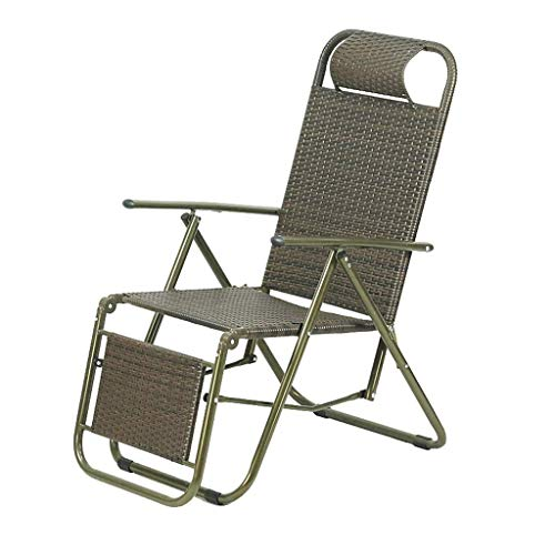 Cover Cool Rattan (Outdoor Folding Chair Office Lunch Break Beach Camping Cool Casual Oxford Rattan Chair)
