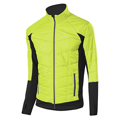 LÖFFLER Hybrid Functional Jacket - Lime/Graphite