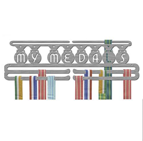 Sport Medal Hanger; Any Sport Holder Over 40 Medals; Three Bars Stainless