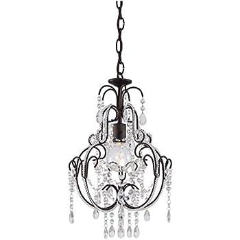 minka lavery mini crystal chandelier lighting 1 light 60 watts