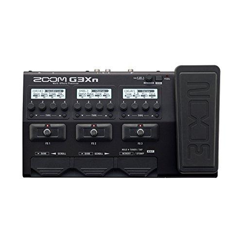 Zoom G3Xn MultiEffects Processor for Guitar (Best Guitar Fx Processor)