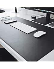 Mouse Pad Desk Pad Max em Couro Ecologico 90x40cm - WORKPAD (Preto)