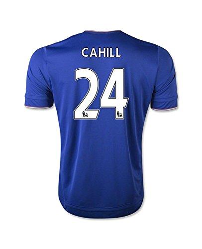 要件全体にキャプションAdidas Cahill #24 Chelsea Home Soccer Jersey 2015(Authentic name and number of player)/サッカーユニフォーム チェルシーFC ホーム用 ケーヒル 背番号24 2015