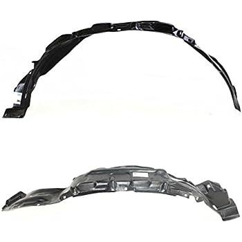 For 10-13 4Runner Front Splash Shield Inner Fender Liner Left /& Right SET PAIR