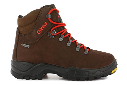 Chiruca-CARES 02 GORE-TEX Marrón-Rojo